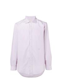 Camicia elegante viola chiaro di Massimo Alba