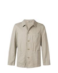 Camicia giacca beige di Aspesi