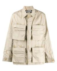 Camicia giacca beige di Jacquemus