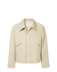 Camicia giacca beige di Maison Margiela