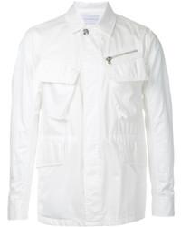 Camicia giacca bianca