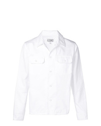 Camicia giacca bianca di Maison Margiela