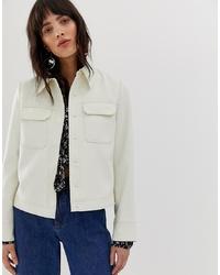 Camicia giacca bianca di Mango