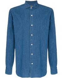 Camicia giacca blu