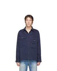Camicia giacca blu scuro di Acne Studios