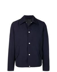 Camicia giacca blu scuro di AMI Alexandre Mattiussi