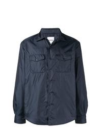 Camicia giacca blu scuro di Aspesi