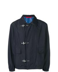 Camicia giacca blu scuro di Fay