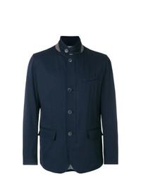 Camicia giacca blu scuro di Herno