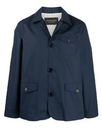 Camicia giacca blu scuro di Viktor & Rolf