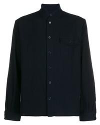 Camicia giacca blu scuro di YMC