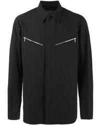 Camicia giacca di cotone nera di rag & bone