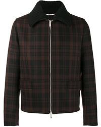 Camicia giacca di lana nera