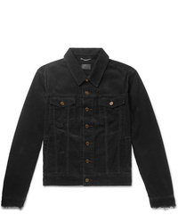 Camicia giacca di velluto a coste nera