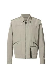 Camicia giacca grigia di Lanvin