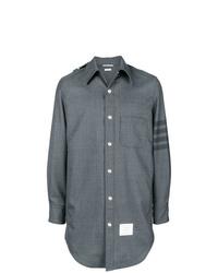 Camicia giacca grigia di Thom Browne