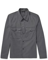 Camicia giacca grigio scuro