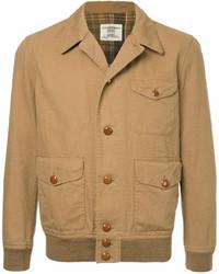 Camicia giacca marrone chiaro