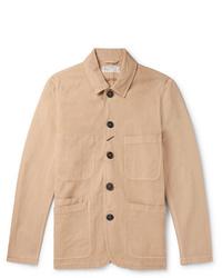Camicia giacca marrone chiaro di Universal Works