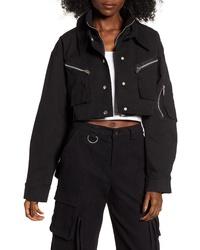Camicia giacca nera
