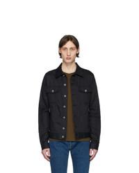 Camicia giacca nera di Balmain