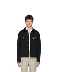 Camicia giacca nera di Maison Margiela