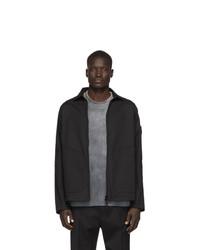 Camicia giacca nera di Stone Island