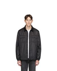 Camicia giacca nera di Woolrich