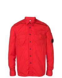 Camicia giacca rossa