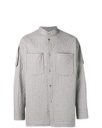 Camicia giacca scozzese grigia di Vivienne Westwood