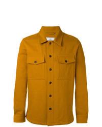 Camicia giacca senape