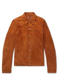 Camicia giacca terracotta