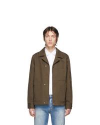 Camicia giacca verde oliva di Acne Studios