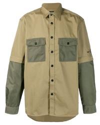 Camicia giacca verde oliva di Diesel