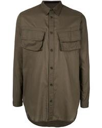 Camicia giacca verde oliva di Julius