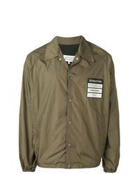 Camicia giacca verde oliva di Maison Margiela