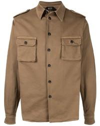 Camicia giacca verde oliva di N°21