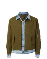 Camicia giacca verde oliva di Overcome