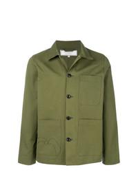 Camicia giacca verde oliva di Societe Anonyme