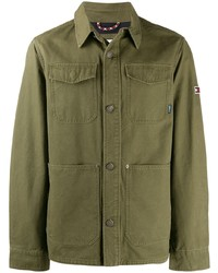 Camicia giacca verde oliva di Tommy Jeans