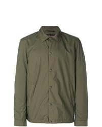 Camicia giacca verde oliva di Woolrich