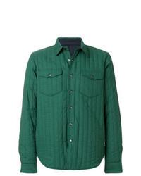 Camicia giacca verde
