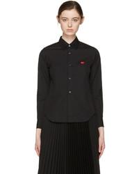Camicia nera di Comme des Garcons