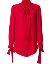 Camicia rossa di Alexander McQueen