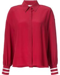 Camicia rossa di Fendi