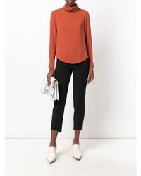 Camisetta a maniche lunghe arancione di Societe Anonyme