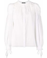 Camisetta a maniche lunghe bianca di Alexander McQueen