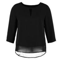 Camisetta a maniche lunghe nera di Esprit