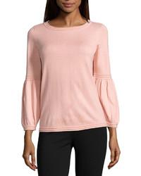 Camisetta a maniche lunghe rosa original 10020367