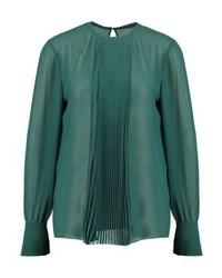 Camisetta a maniche lunghe verde di Sisley